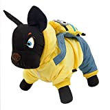 Pawz Road Hundejacke Katzepullover T-shirt Cartoon Jumpsuit Minions