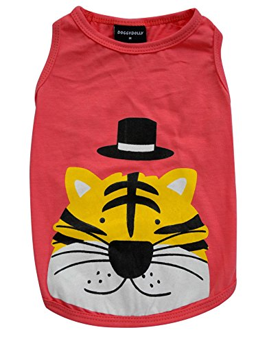 Doggy Dolly T368 Hundeshirt Tiger, orange, Größe : XL