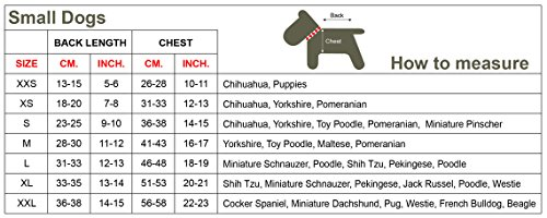 Doggy Dolly T518 Hundeshirt Wanted, rot/schwarz, Größe : S - 3