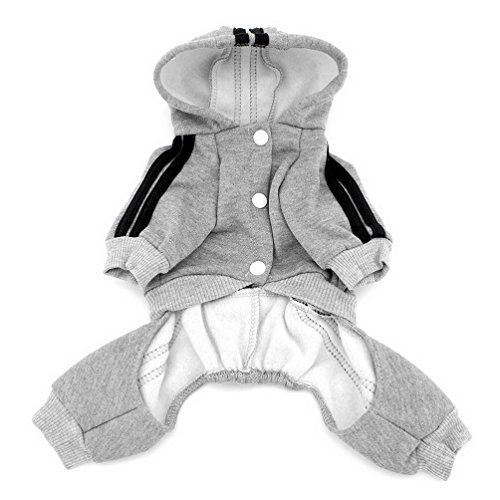 Pegasus Dick Warm Panda Hoodies Hund Jumpsuits Fleece Sweatshirt Fashion, für kleine Hunde/Katzen - 2