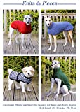 Knits & Pieces Knitting Pattern : Whippet, Greyhound and Small Dog Coats [Pamphlet] by Sandra Polley