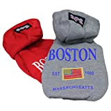 Animally® Hunde Pullover - Kapuzenpullover - Sweatshirt - Boston (L, Grau)