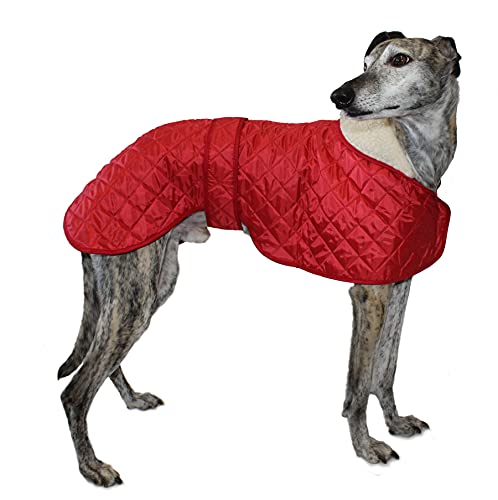 Cosipet Greyhound Anorak Nylon Coat, 61 cm, Rot