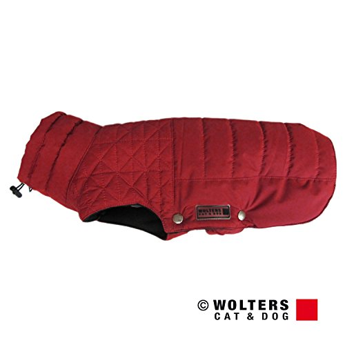 Wolters Thermosteppjacke Boston mit RV und Kordelzug in rot - 38cm
