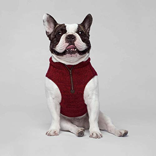 Canada Pooch Northern Knit Pullover Rot XL - 7