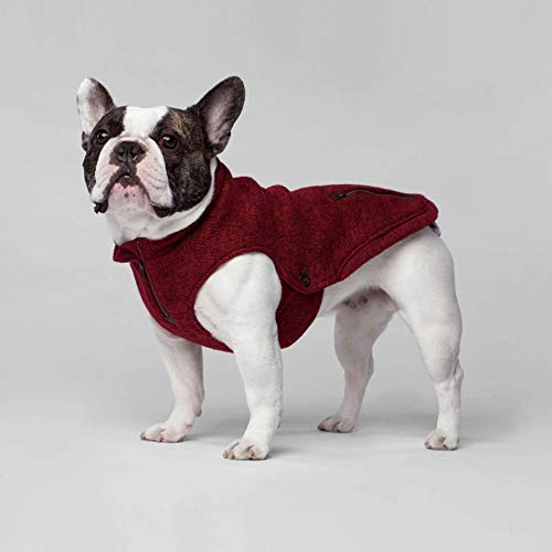 Canada Pooch Northern Knit Pullover Rot XL - 3