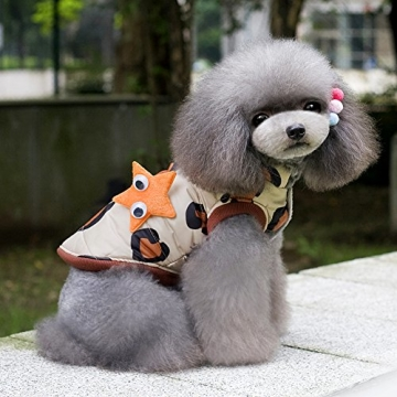 Chinatera Winter Hund Katze Hoodie Jacke Mantel Haustier Kleidung (8#) - 5
