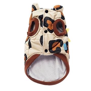 Chinatera Winter Hund Katze Hoodie Jacke Mantel Haustier Kleidung (8#) - 6