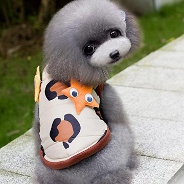 Chinatera Winter Hund Katze Hoodie Jacke Mantel Haustier Kleidung (8#) - 9