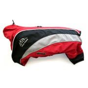 Wolters Dogz-Wear Regenanzug rot/schwarz - 52cm
