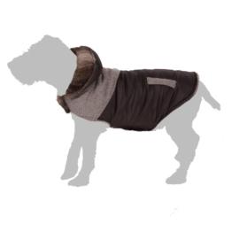 Hundemantel Tweed - ca. 45 cm (Größe XXL)