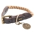 HUNTER Halsband List, Gr. 1, Farbe: beige