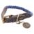 HUNTER Halsband List, Gr. 3, Farbe: blau