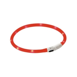 Kerbl Maxi Safe LED-Halsband - Rot