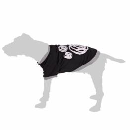 Hundepullover College - ca. 30 cm Rückenlänge (Größe M)