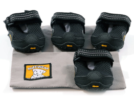 Ruffwear Hundeschuhe ´´Bark´n boots grip tex´´ - schwarz - XXS