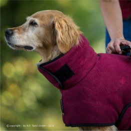 warmup cape Plus Hundemantel bordeaux XXL