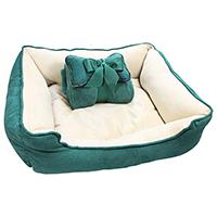 Hundebett 3-teilig, Bett, Decke & Kopfkissen
