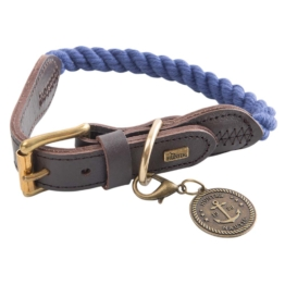 HUNTER Hundehalsband List Blau, Gr. 1
