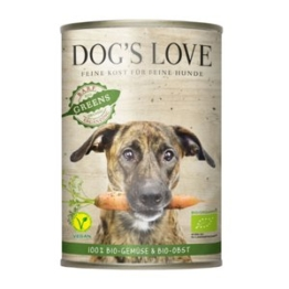 Dog´s Love Adult Vegan Bio Greens B.A.R.F. 6x400g
