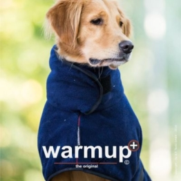 warmup cape Plus Hundemantel dark blue S