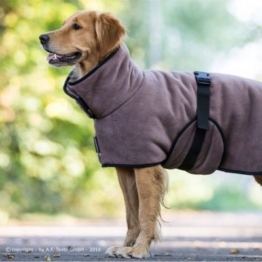 warmup cape Plus Hundemantel mokka XXL