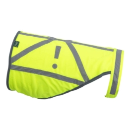 HUNTER Hunde-Warnweste Safety Gelb, Farbe: neongelb, Gr. 3