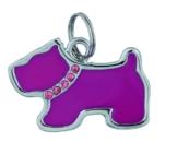 Trixie | Schmuck-Adressanhänger, Hund | L 35 x B 25 mm