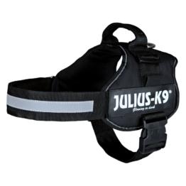 Julius-K9 Powergeschirr - schwarz - Größe 3: 82 - 118 cm Brustumfang
