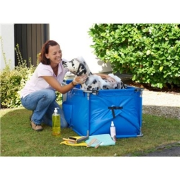 Karlie Doggy Shower blau für große Hunde