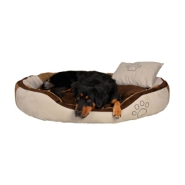 Trixie Hundebett Bonzo beige/braun - 120×80cm