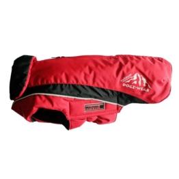 Wolters Cat&Dog Wolters Skijacke Dogz Wear mit wasserdichtem RV in rot und schwarz - 60cm