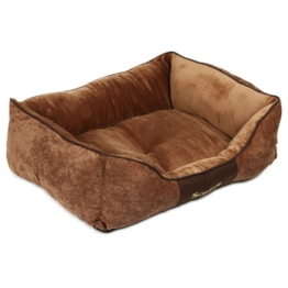 Scruffs Hundebett Chester Box Bed Braun - M