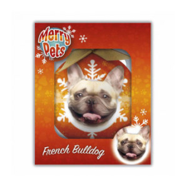 Merry Pets Christbaumkugel Hund - Französische Bulldogge