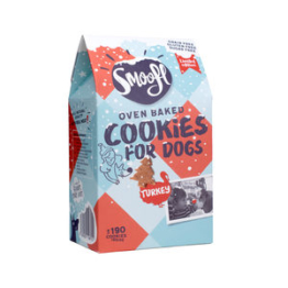 Smoofl Oven Baked Christmas Cookies for Dogs - 105 g