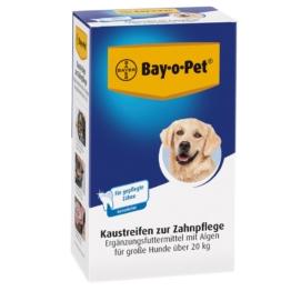 Bay-o-Pet Zahnpflege Kaustreifen für große Hunde - 12 x 140 g