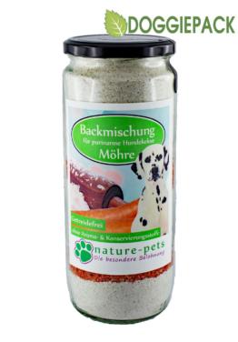 Möhre & Kerne - Backmischung Hundekekse 700g - getreidefrei -
