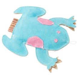 NUFNUF Hunde-Plüschspielzeug Scooby Frog blau