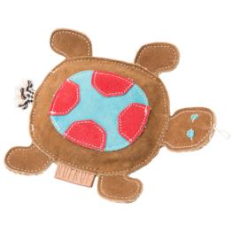 NUFNUF Hunde-Plüschspielzeug Scooby Turtle braun