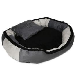 Trixie Bett Bonzo grau/schwarz - 100x70cm