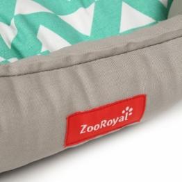 ZooRoyal Design Hundebett Askil grau - 120x80x16 cm