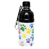 Hunde-Wasserflasche Long Paws, Farbe: Bunt