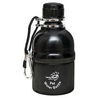 Hunde-Wasserflasche Long Paws, Farbe: Schwarz
