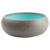 treusinn. Hundenapf Keramik pur grau-blau, Gr. 3