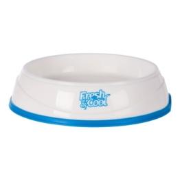 Trixie Fresh & Cool Kühlnapf weiß/blau 1 l/20 cm