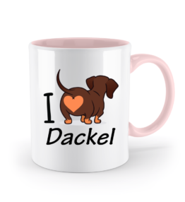 Tasse - I love Dackel