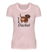 I love Dackel T-Shirt für Männlein und Weiblein in verschiedenen Farben und Ausführungen