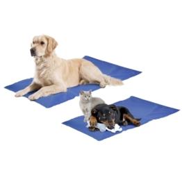 Kühlmatte Fresk für Hunde und Katzen, XL: 100 x 60 cm, blau