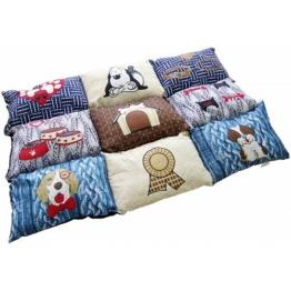 HEIM Hunde-Decke »Patchwork«, BxL: 55x80 cm, gesteppt, blau, blau