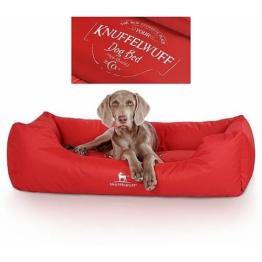 Knuffelwuff Tierbett »Hundebett Ryan«, Antiallergisch, rot